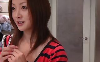Young massage pornography flick with asian teen hot drilling