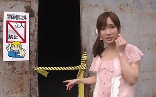Hottest Japanese girl Minami Kojima in Fabulous dildos/toys, outdoor JAV scene