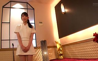 Horny Japanese whore Koharu Suzuki in Crazy couple, college JAV pin