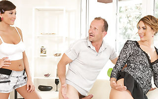 Anabelle & Ani Blackfox in Mother And Dad Are Pounding My Friends #19 - DogHouseDigital