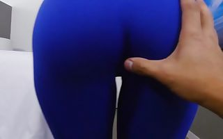 Kitty Catherine in Ripping Kitty Yoga Pants to free that Big Importunate - BrownBunnies
