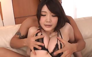 Kinky Japanese whore Rie Tachikawa in Amazing JAV uncensored Big Hooters movie