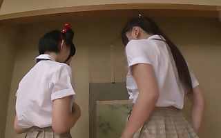 Ai Sayama  Karen Haruki in Teacher Gives College Students After School Lesson - CosplayInJapan