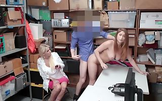 Skylar Snow punished for sex infront of mom